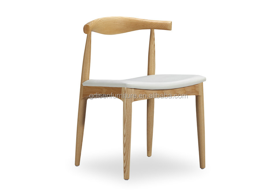 North European Style Dining Chair Replica Hans Wegner Elbow Chair By Solid  Wood