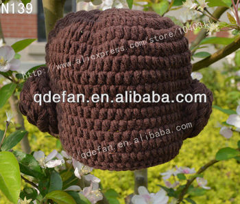 e1aa64251 Best Selling ! Cute Hand Made Crochet Baby And Children Girls Princess Leia  Beanie Hats All Sizes Are Available Wholesale - Buy Baby Hat,Child ...