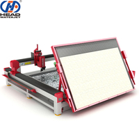 CNC water jet cutter natural stone panel cutting machine prices