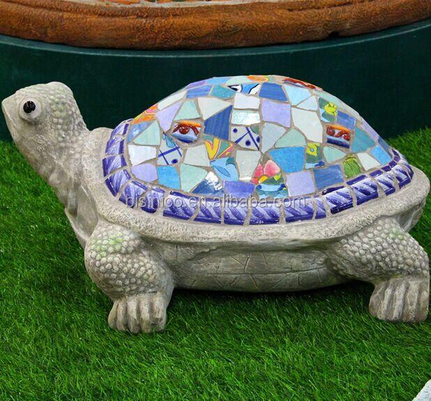 c ramique mosa que animaux jardin d coration belle forme de tortue ornements ext rieurs bf01. Black Bedroom Furniture Sets. Home Design Ideas