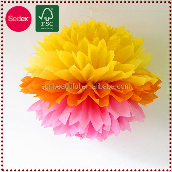 Hanging Decorative Artificial Flower Ball Flower Paper,Flower ...