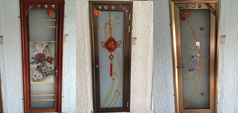 Main Entrance Inetrior Door Design Aluminium Bathroom Door