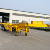 Hot sale 3 axles skeletal container trailer for transport
