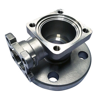 Complide RoHS 316Ti Stainless Steel High Precision Silica Sol Lost Wax Casting Medical Iiquid Valve Body