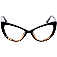 Cat 눈 큰 <span class=keywords><strong>안경</strong></span> Frame China Manufacturer Womens 망 Oversize 독서 Glasses