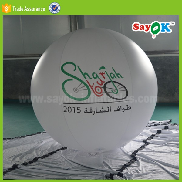 giant cheap floating inflatable advertising balloons helium canister for sale