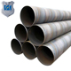 High Quality SSAW API 5L X50 X42 X60 X65 Black painted spiral welded pipes round weld pipe