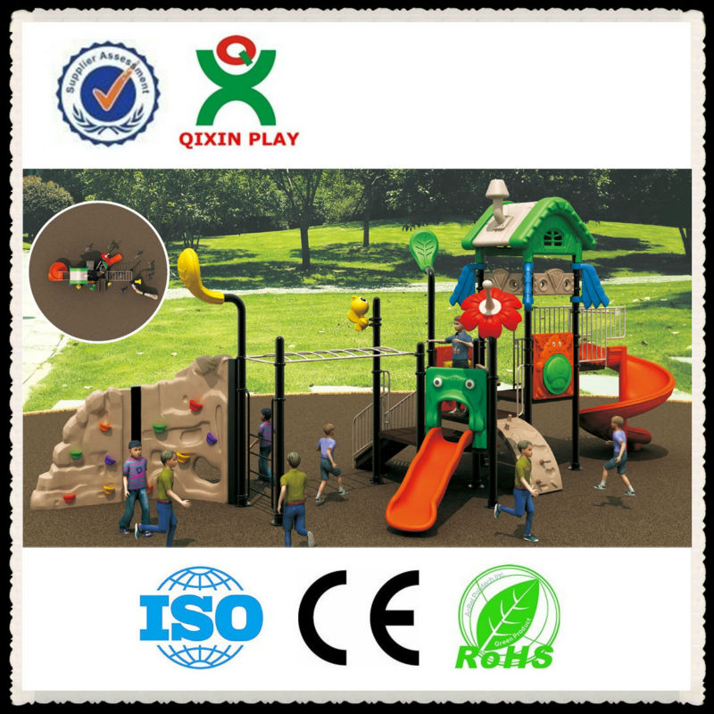2016 the most valuable and hot sale toddler play equipment/playground surfacing materials /kids combination playground QX-015A