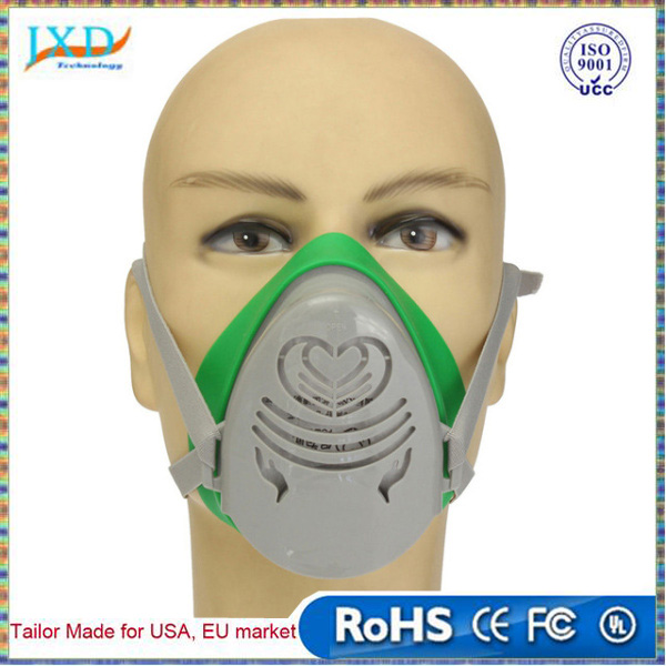 Fire Respirators N3800 Anti-dust Facepiece Filter Paint Spraying Cartridge Respirator Gas Mask Excellent In Cushion Effect