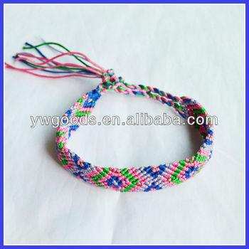 Silk Thread Braided Friendship Bracelet