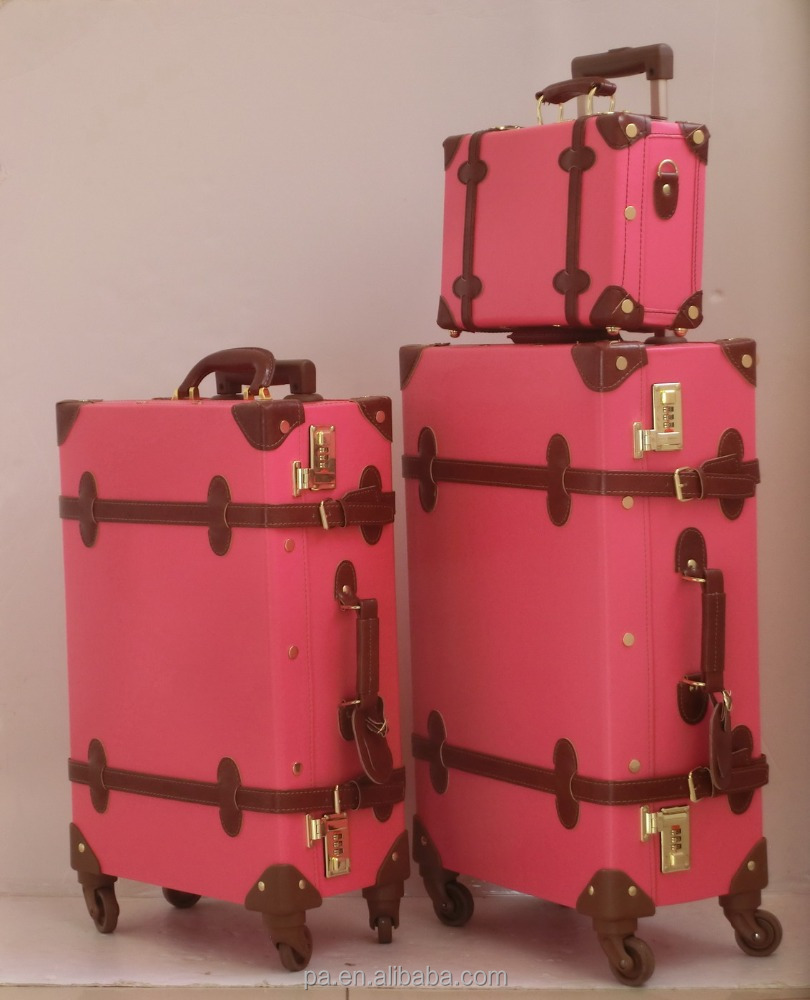 Pink Vintage Suitcase, Pink Vintage Suitcase Suppliers and ...