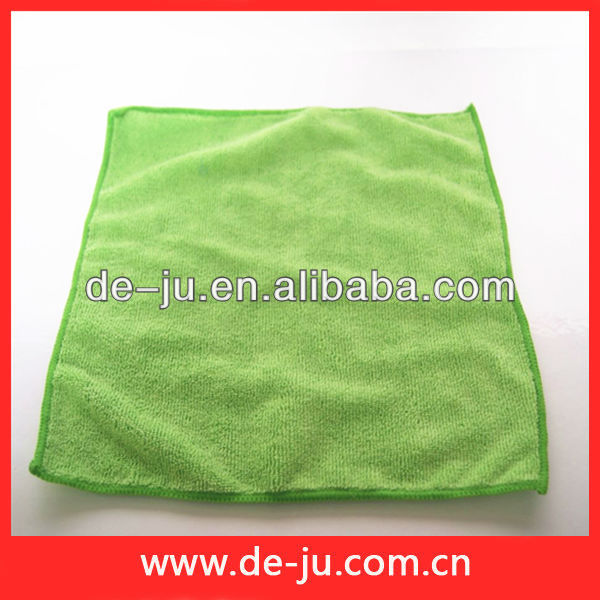 Middle Size Green Cloth Cleaning Magic Polyester Hand Towel