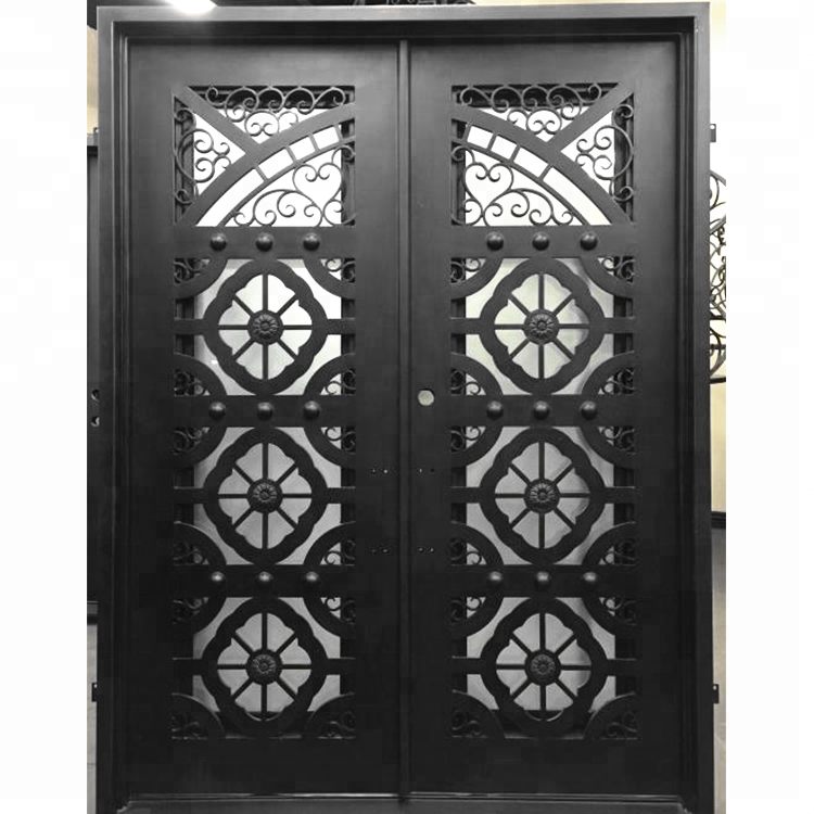 Wrought Iron Double Screen Doors Cheap Custom Apartment Entry Security Door  Made In China - Buy Apartment Entry Door,Cheap Apartment Door,Cheap ...