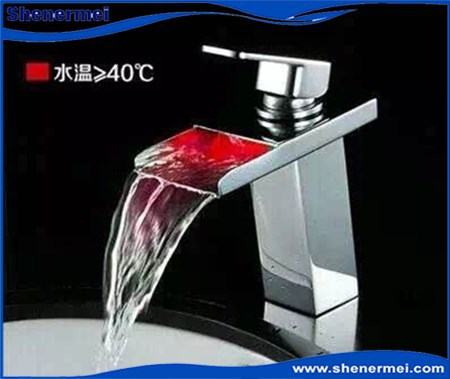 Led Faucet Wash Basin Mixer Tap Led Lighting