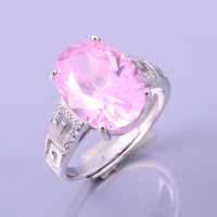 Wholesale Factory Direct White Rings y Women 925 Sterling Silver