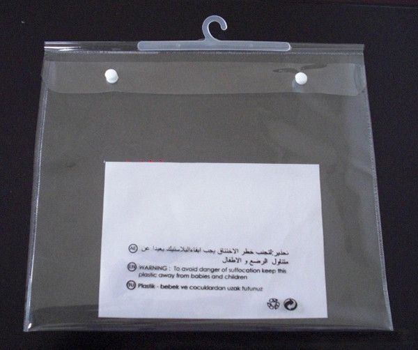 Short Delivery 7days Ziplock Bag With Hanger Sd Cb 036