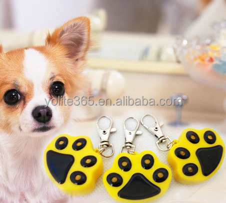 Eco-friendly customized design led pet tags for dogs