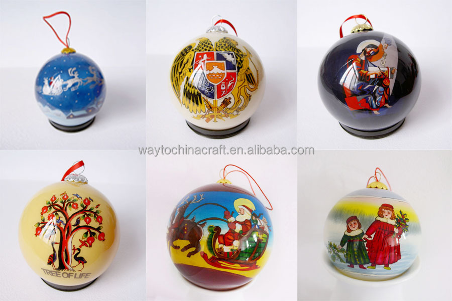 decoration hanging christmas glass ball