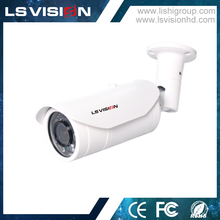 LS VISION Auto Networking UPNP All In One IP Network Camera With 2.8-12MM Lens
