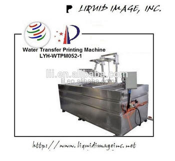 Liquid Image CE 3D Automatic manual water transfer printing tank hydrographic machine, hydro dipping equipment LYH-WTPM051-1