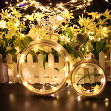 Bicycle wheel program warm white battery operated micro 12v 50m led fairy string light