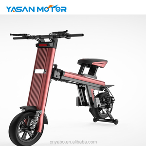 2018 most popular Folding e bike city road electric mini scooter two wheel electric scooter