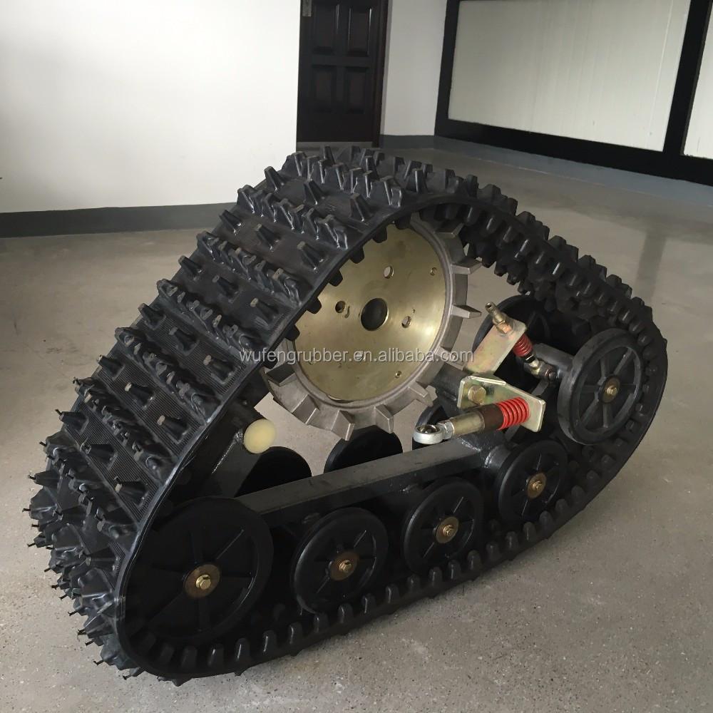 All terrain suv rubber track conversion system