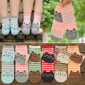 Fashion Women Big Kids Girls Boys Cartoon Funny Cat Short Ankle Socks Anklet