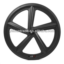 2014 YISHUNBIKE factory sale 66mm road 5 Spoke taiwan wheels 700c tubular bicycle wheel