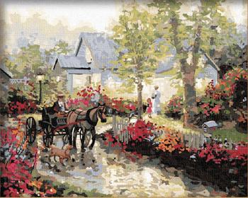 Gz240 40 50 Impressionistischen Herbst Wald Paintboy Malen Nach