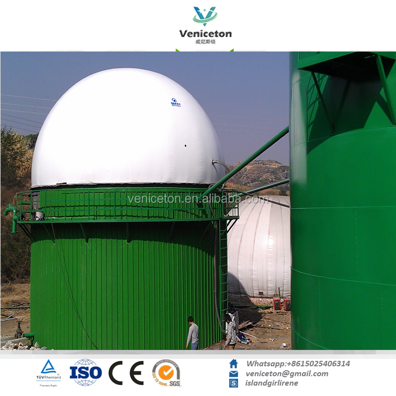 Veniceton High Strength Membrane Quality Biogas for Holding Tank small biogas plant