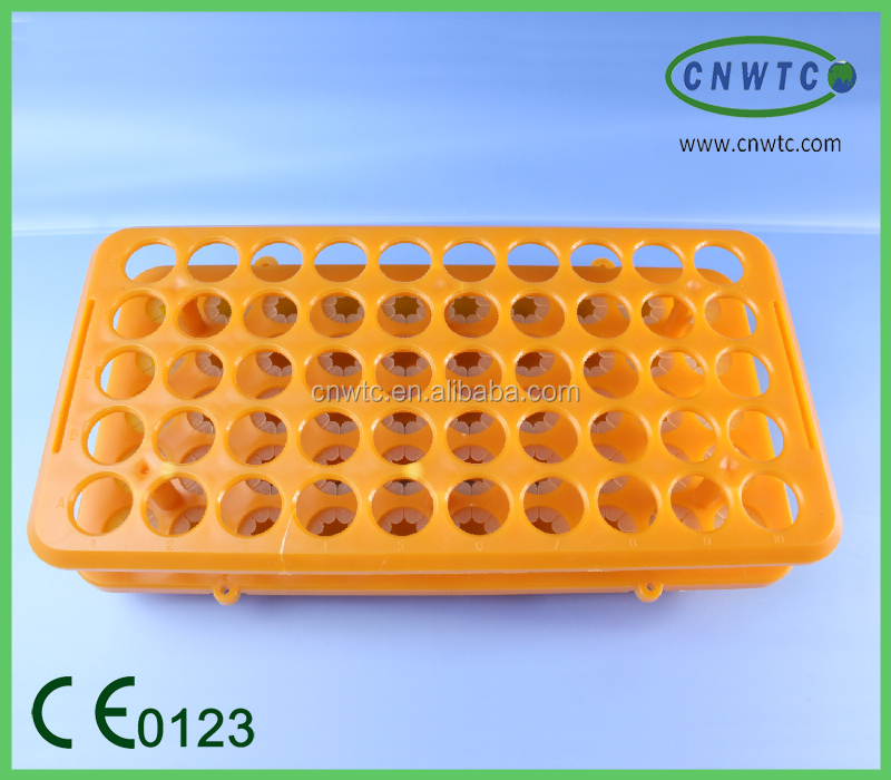Lab Blue Plastic Hole Test Tube Stand Rack