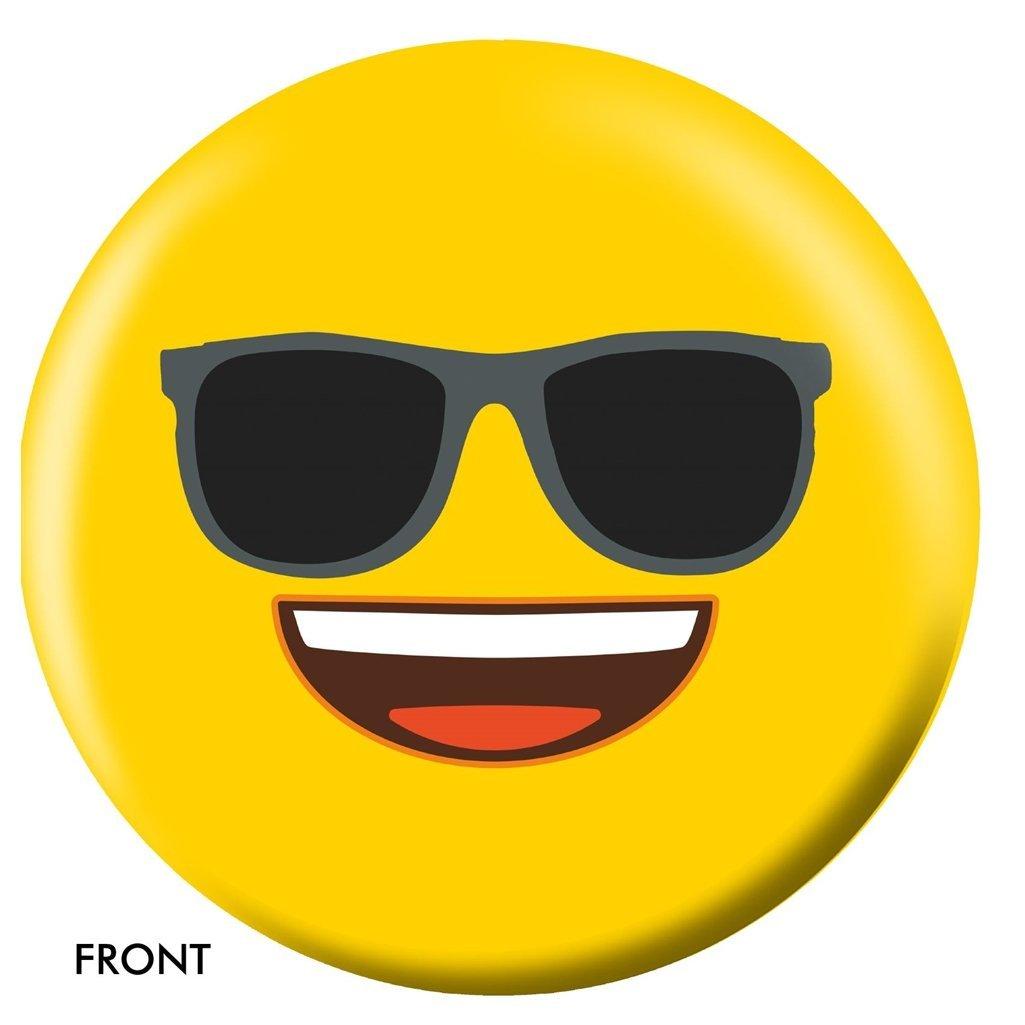 Emoji Yellow Faces Bowling Ball