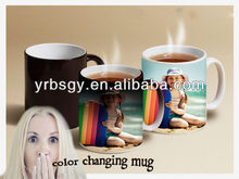 heating color changing mug back to school promotional gifts