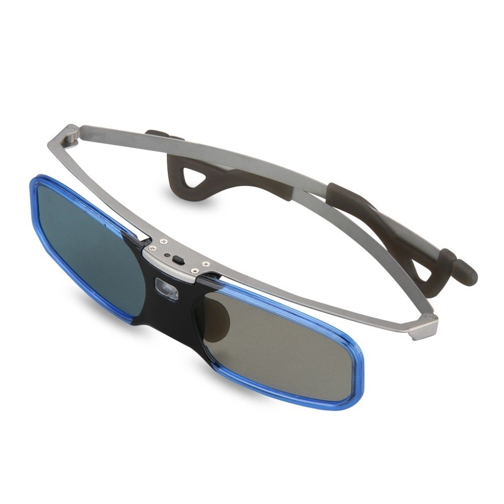 RX30S 3D Active DLP-Link Glasses For Optama, Acer, BenQ, NEC, ViewSonic, Sharp, Dell, Black