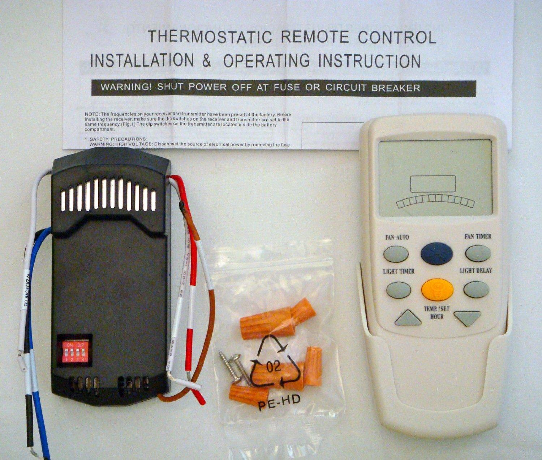 Hampton Bay Ceiling Fan Lcd Remote Control Receiver