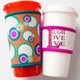 Promotional Insulated Custom Neoprene Milk Coffee Can Coolers, Cup Holders