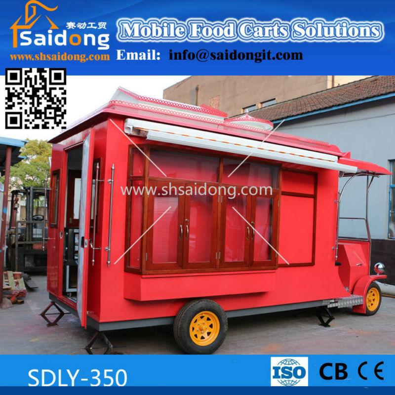 Customized Design Antique Food Cart Bbq Vintage For Sale