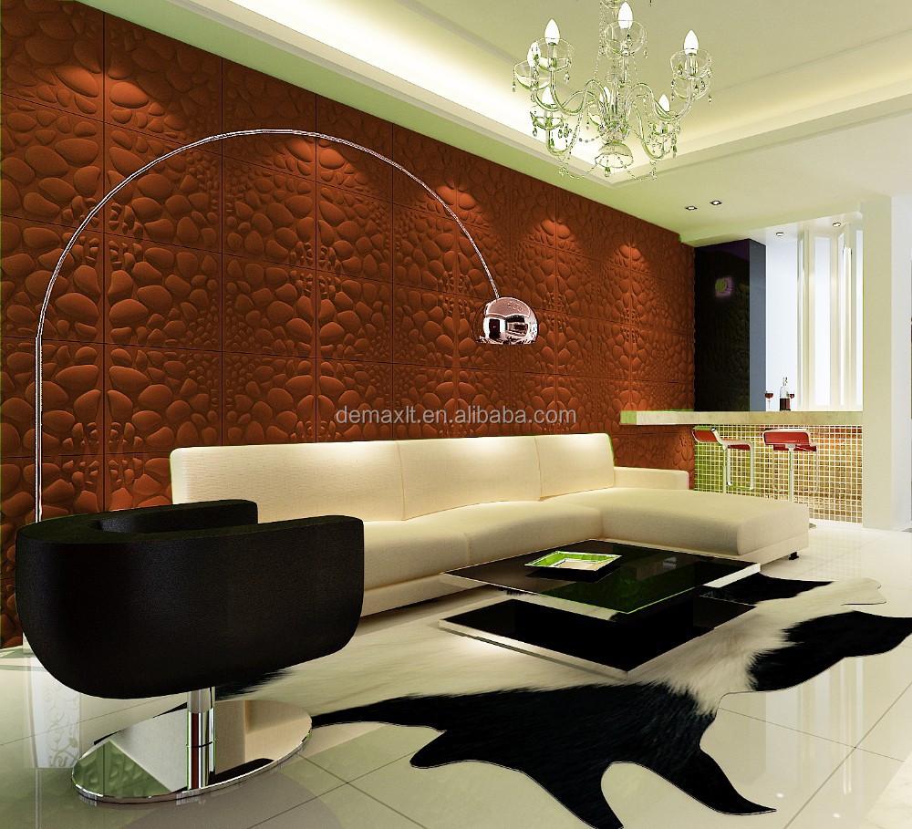 aspetto attraente 3d parete pannelli decorativi in rilievo-Carte ...