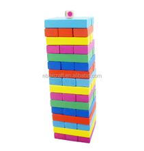 Innovative primäre farbe kinder Tag Geschenke 32 stück <span class=keywords><strong>spielzeug</strong></span> anschluss cube block puzzle holz intelligenz bausteine
