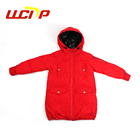 2018 Hot sale winter high quality light loose duck down girl jacket for children