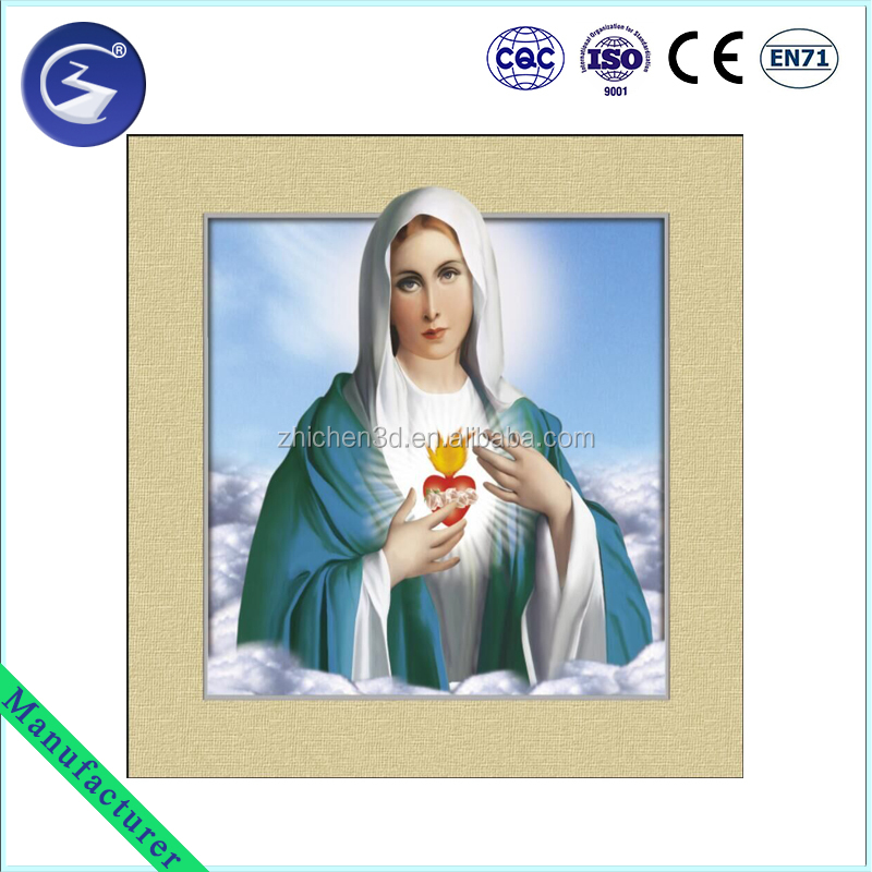3D Virgin Mary Picture