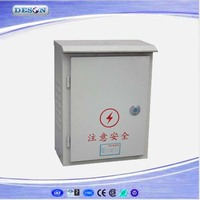 Waterproof Power Control Box, Metal Power Supply Distribution Box IP65, Power outdoor cable distribution box