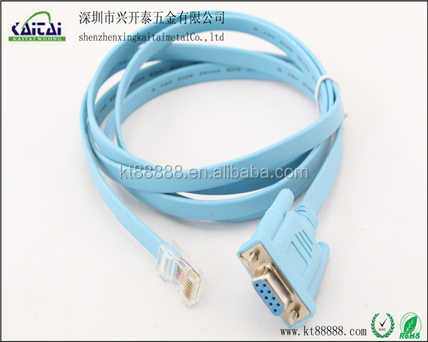 rj11 to rs232 connector flat cable blue - buy d-sub rj11 to rs232, Wiring diagram