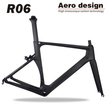 Miracle 2017 China aero Carbon Road Bike Frame,road bicycle carbon bike frames R06