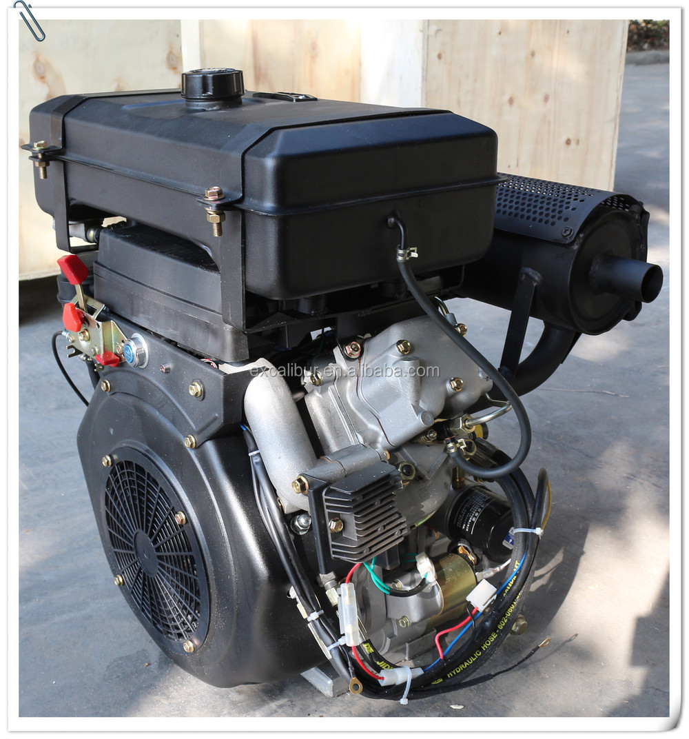 Bmwpact Diesel For Sale: 4-stroke 20hp V-twin Small Diesel Engine For Sale