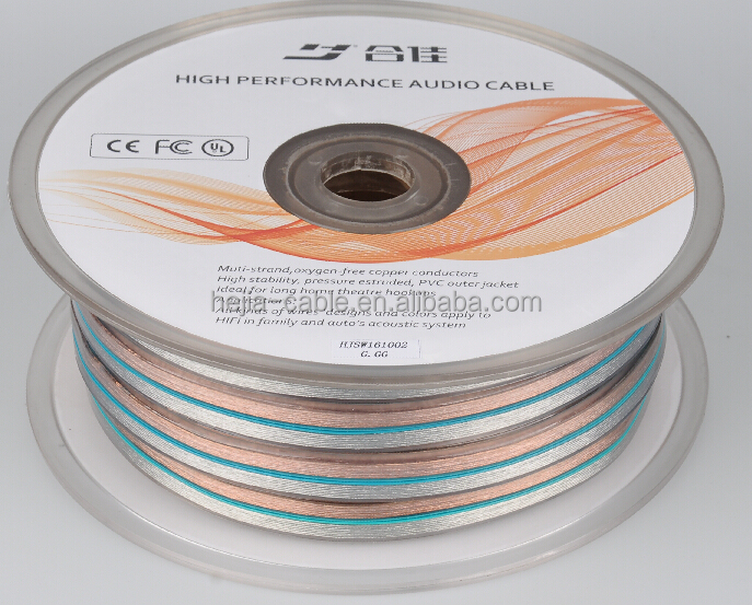 Flat Ribbon Speaker Cable Wire/ul Rated Speaker Wire - Buy Flat ...