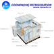 frozen fish ice maker cold storage for fruit and vegetable