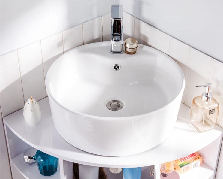 Hoek Wasbak Badkamer : Driehoek badkamermeubel wc hoekkast 90 graden hoek badkamer pvc kast