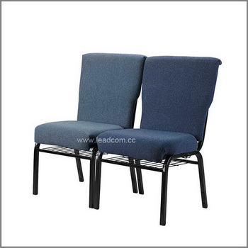 Leadcom Fabric Padded Stackable Interlock Church Chair ls 522